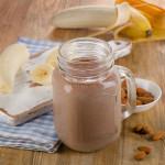 Choconut Banana Shake