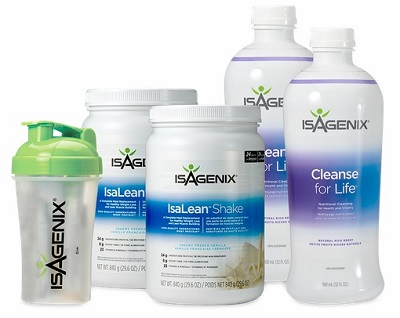 Isagenix Shake and Cleanse Pak