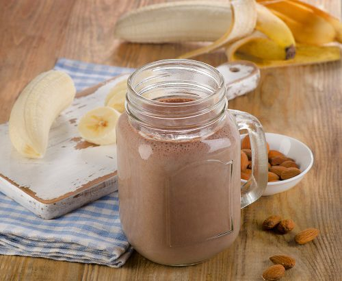 Banana Chocolate Shake