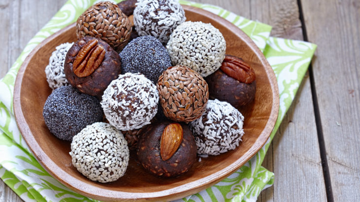 Homemade Healthy Protein balls
