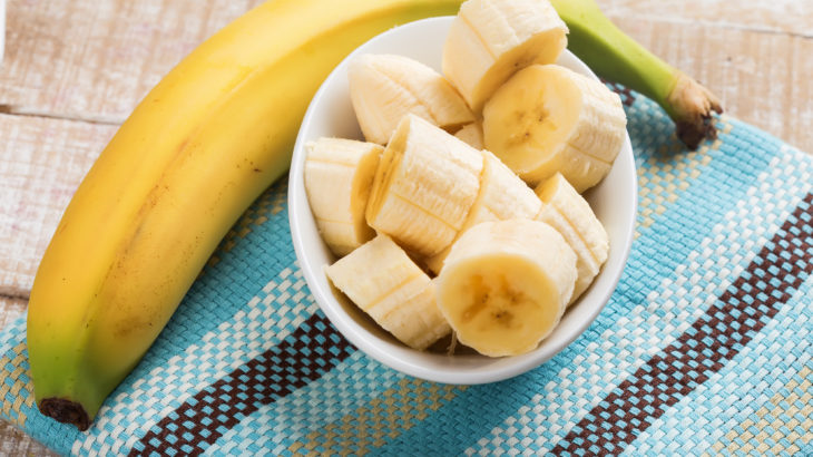 Simple banana snack