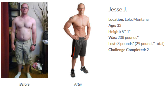 Jesse After Using Isagenix