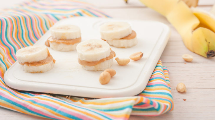 Banana Peanut Butter Delights Healthy Snack