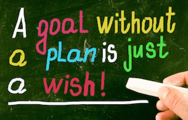 goal setting 2018