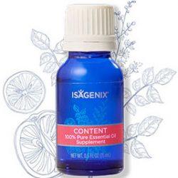 Isagenix oil content