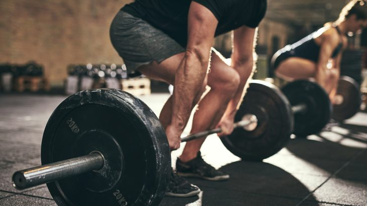 Deadlifts help work multiple muscle groups