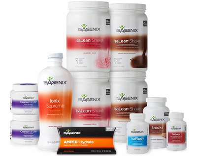 The Isagenix 30 Day Cleanse
