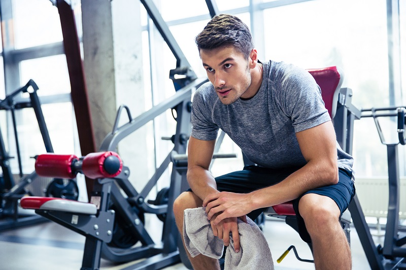 Incorporate longer resting periods at the gym