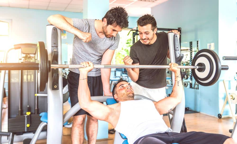 Reaching your fitness goal doesn't have to be lonely. Having gym buddies can help you be motivated.