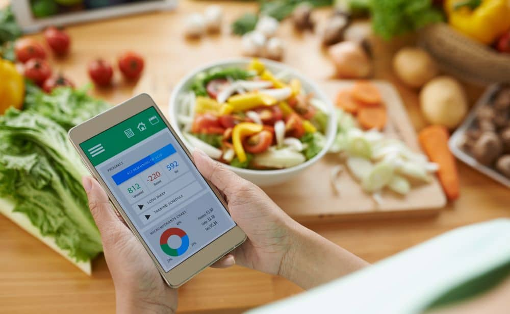 For those who want to loose weight, you can start by keeping track of your calorie intake.
